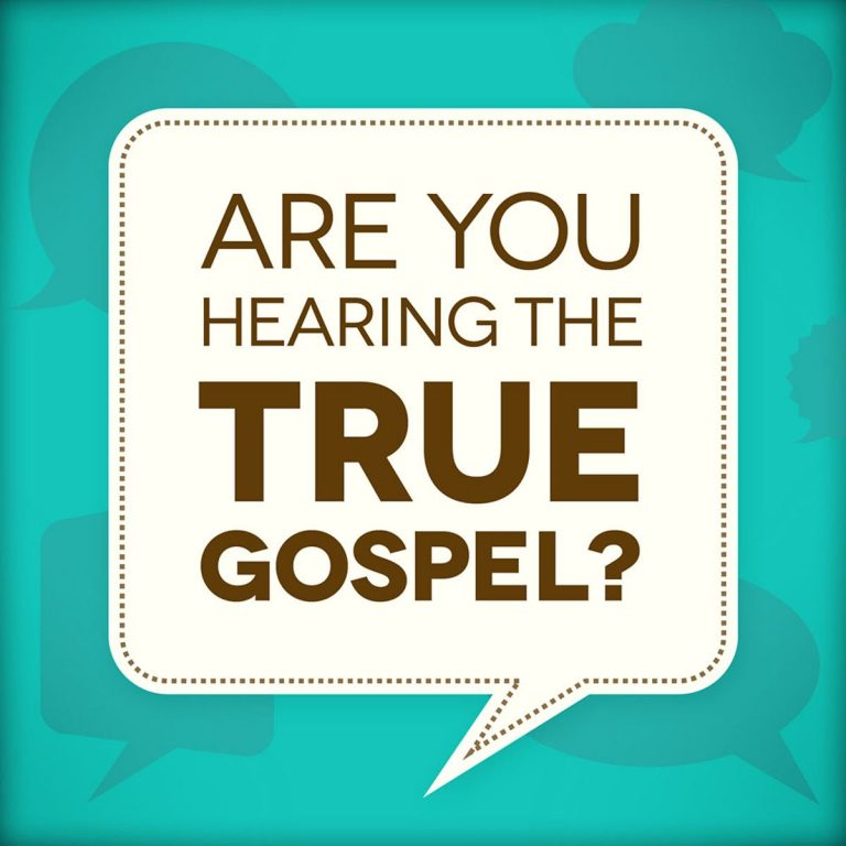 The True Gospel of Christ Can Never Die!