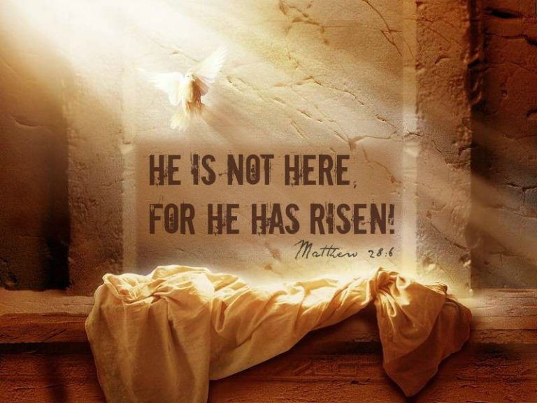 Easter Message from Matthew 28: Go and Tell the World that Jesus is Alive!!!