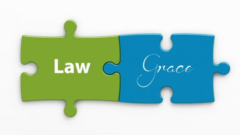 The Law and Grace cannot be interchanged.
