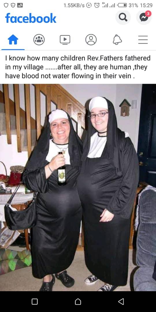 2 Pregnant Nuns stun the world of faithful Roman Catholics
