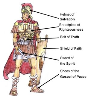 THE ARMOR OF GOD: WHAT IS IT AND HOW DO WE PUT IT ON?